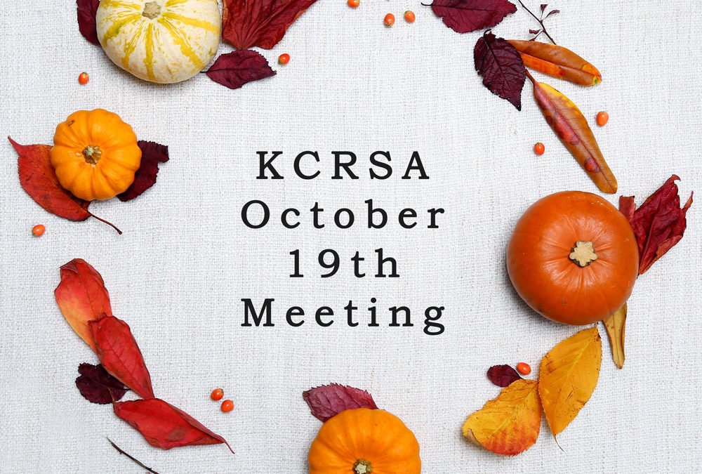 Fall Meeting October 19